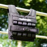 Gewichtsvest 20KG Zwart | StreetGains®_