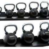 Kettlebell Chrome Rubber | Muscle Power®_