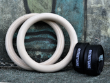Houten Turn Gym Ringen (28MM) | StreetGains®_