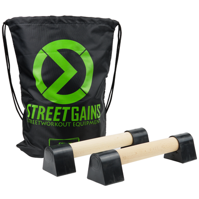 Mini Houten Parallettes | StreetGains®