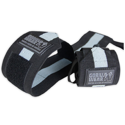 Wrist Wraps ULTRA Black/Grey | Gorilla Wear®