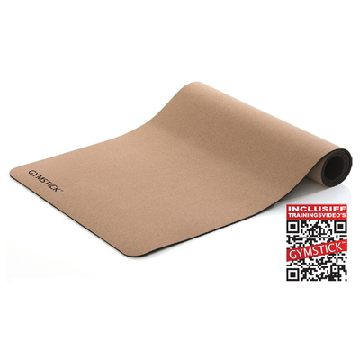 Active Training Mat Met Kurk 4MM | Gymstick®