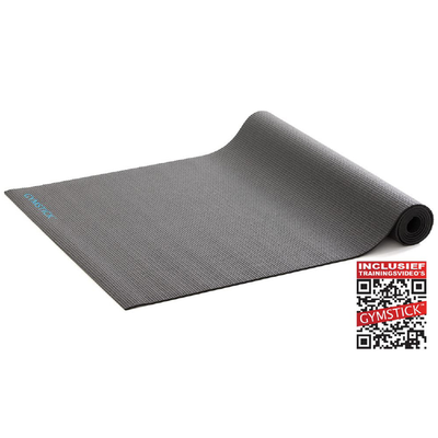 Active Training Mat Zwart 4MM | Gymstick®