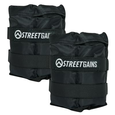 Verstelbare Pols- & Enkelgewichten 5KG | StreetGains®